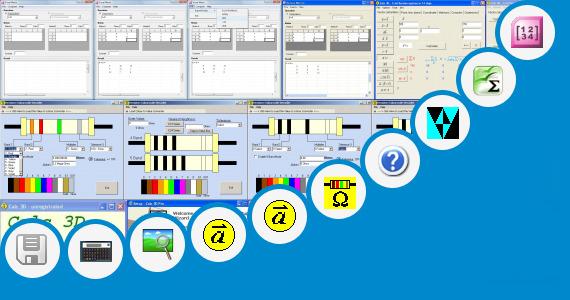 Software collection for Decode Matrix Calculator