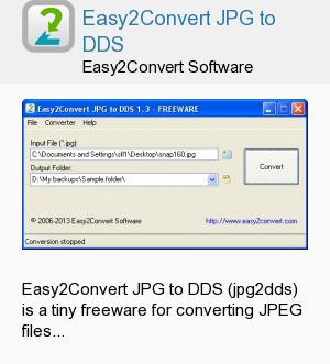 Easy2Convert JPG to DDS