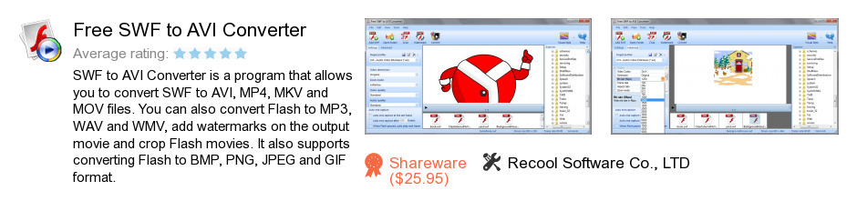 Free SWF to AVI Converter