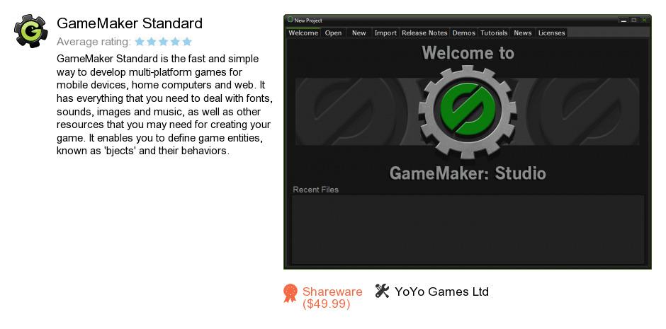 GameMaker Standard