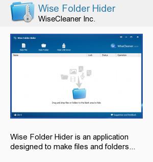 Wise Folder Hider