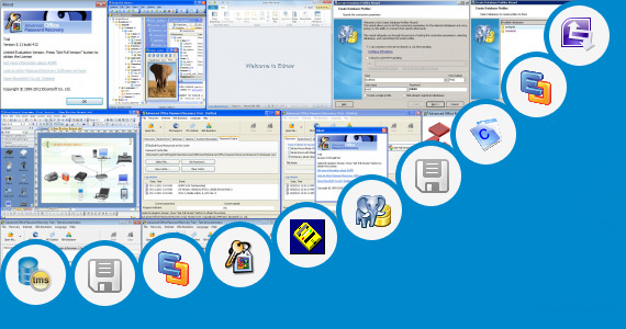 Software collection for Visio Version Control Diagram