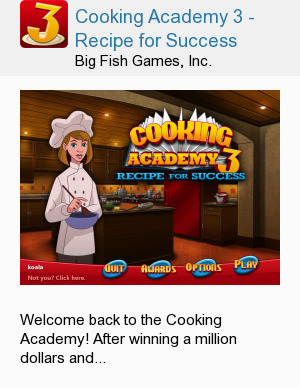 Cooking Academy 3 - Recipe for Success