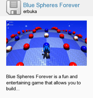 Blue Spheres Forever