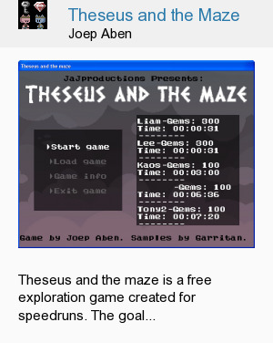Theseus and the Maze