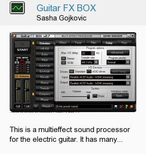 Guitar FX BOX