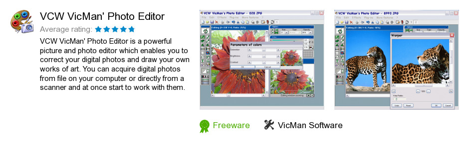 VCW VicMan's Photo Editor