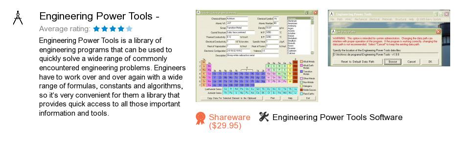 Engineering Power Tools -