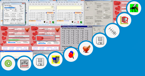 Software collection for 4 Bar Mechanism Calculator