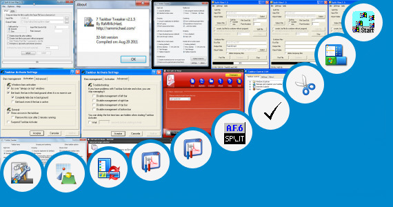 Software collection for Taskbar Split Freeware