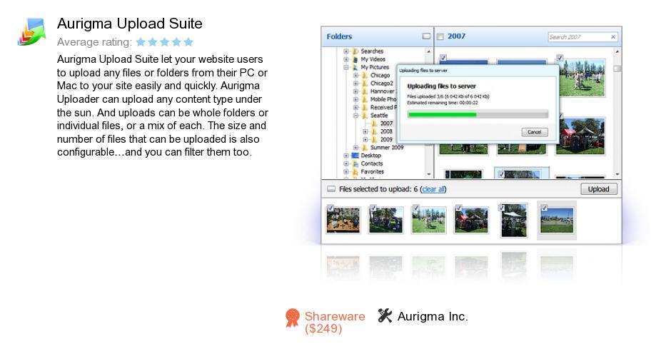 Aurigma Upload Suite
