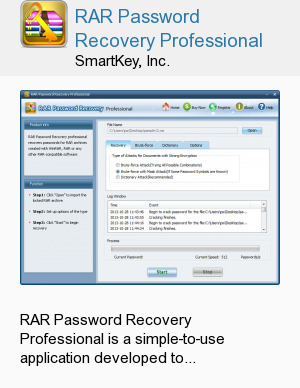 RAR Password Recovery Professional