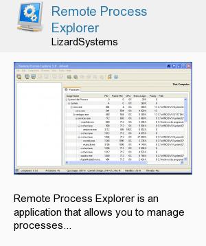 Remote Process Explorer