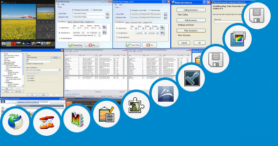 Software collection for Dp Editing Zone Software