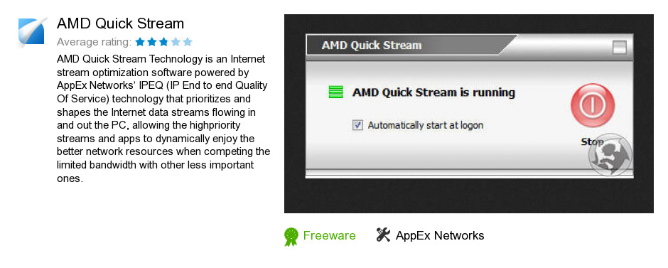 Free AMD Quick Stream Download: 1,322,850 bytes