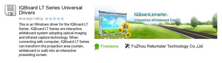 IQBoard LT Series Universal Drivers