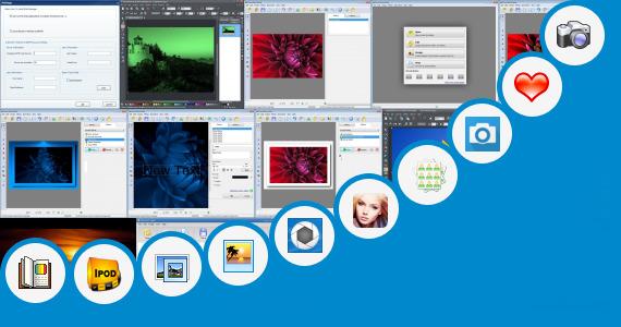 Software collection for Edit Photo Cover Majalah Gratis