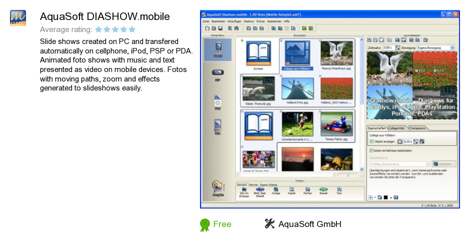 AquaSoft DIASHOW.mobile