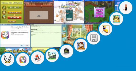 Software collection for Game The Klub 17 Garden