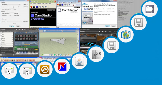 Software collection for Camstudio Shapes Library