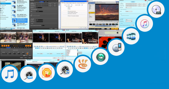 Software collection for Tamil Movies Cut Song