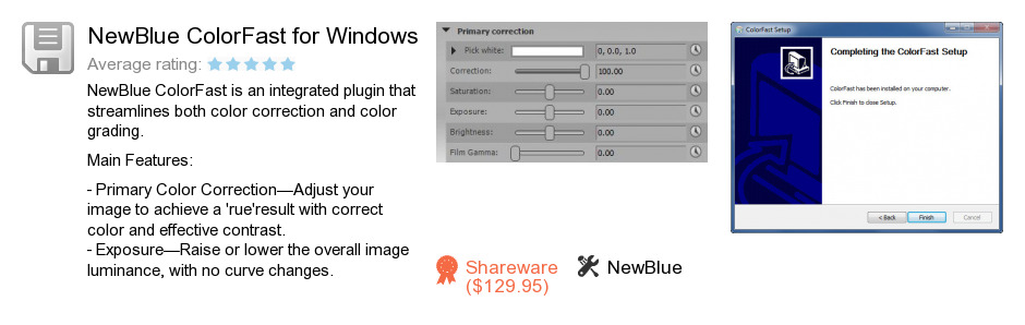 NewBlue ColorFast for Windows