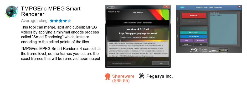 TMPGEnc MPEG Smart Renderer