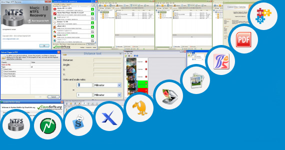 Software collection for Omni Soft Scan Software