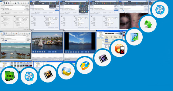 Software collection for Online Video Converter Over 250 Mb