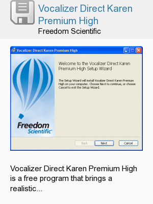 Vocalizer Direct Karen Premium High