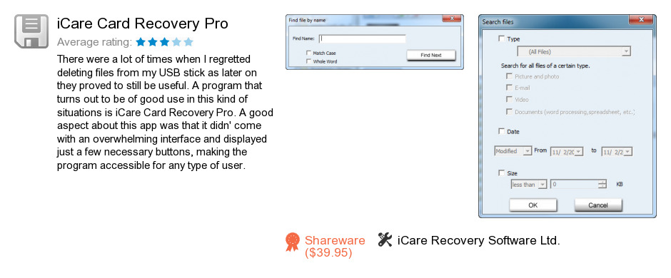 ICare Card Recovery Pro