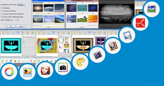 Software collection for Sun Glow Effect Online Photo Editor