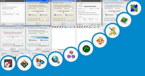 Software collection for True Proxy Icon