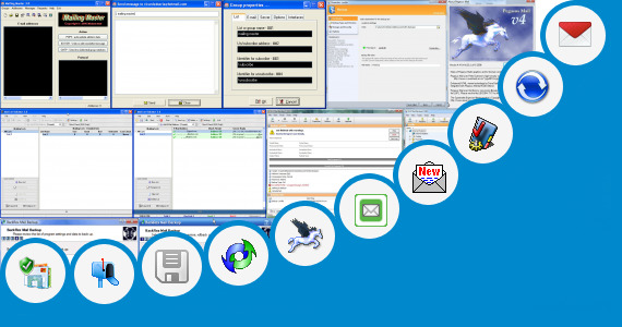 Software collection for Otenet Mail Settings