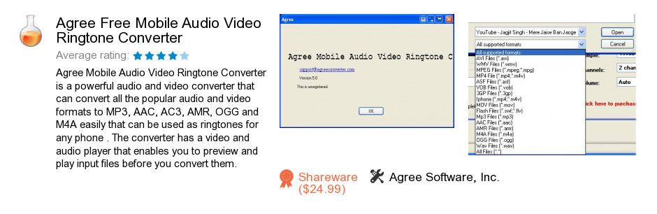 Agree Free Mobile Audio Video Ringtone Converter