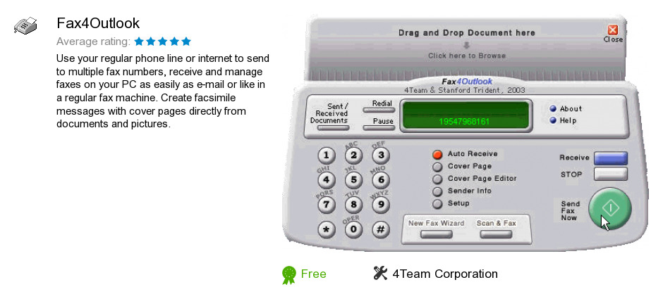 Fax4Outlook