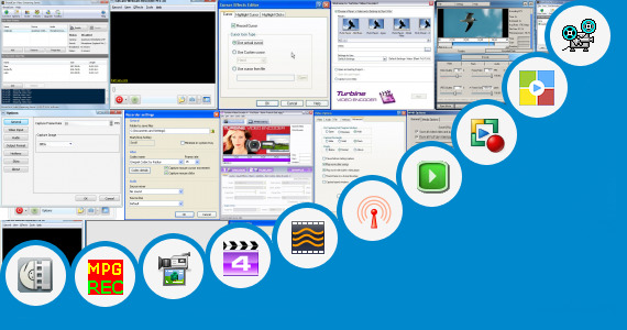Software collection for Record Streaming Flash Video Mfc