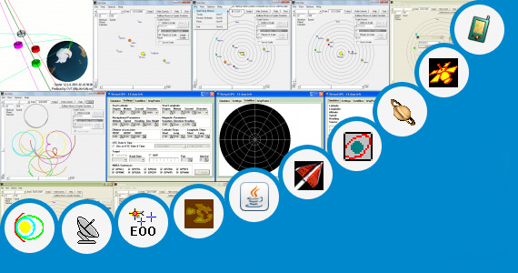 Software collection for Satellite Orbit Simulation Software