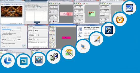 Software collection for Medieval Banner Maker