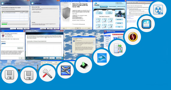 Software collection for Tool Upgrade Resiver