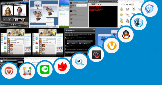 Software collection for Video Chat Apps Jar