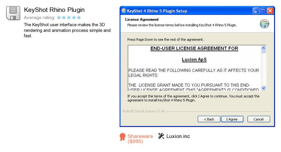 KeyShot Rhino Plugin