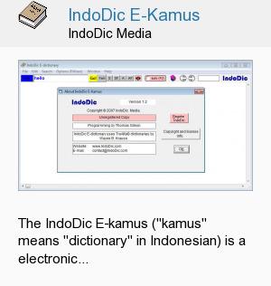 IndoDic E-Kamus