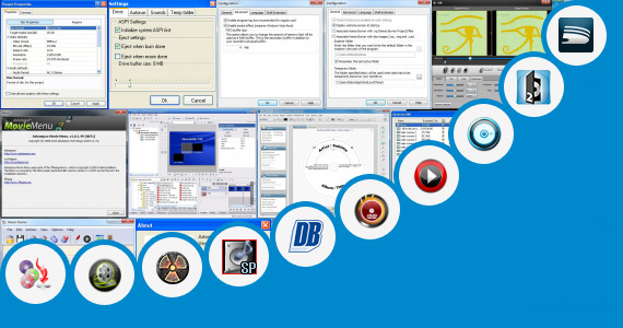 Software collection for Artcut Graphic Disc