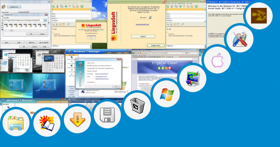 Software collection for Skin Pack One Piece Window 7