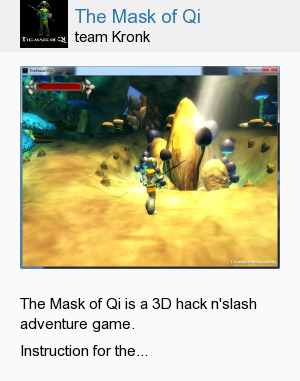 The Mask of Qi