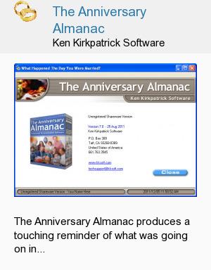 The Anniversary Almanac