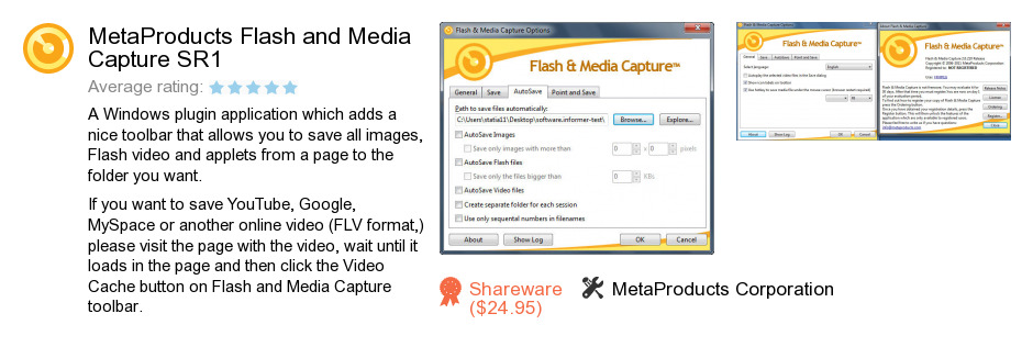 MetaProducts Flash and Media Capture SR1