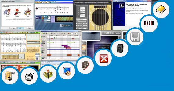 Software collection for Bangla Guitar Rhythm