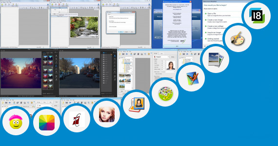 Software collection for Photo Editor App 320x240